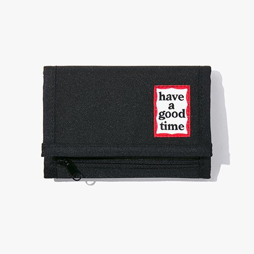 [Have a good time] Frame Wallet - Black