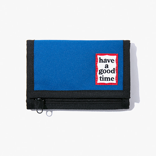 [Have a good time] Frame Wallet - Blue
