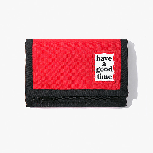 [Have a good time] Frame Wallet - Red