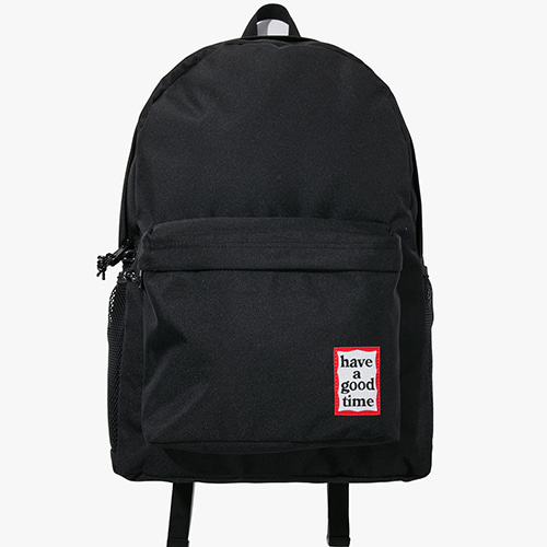 [Have a good time] Frame Backpack - Black