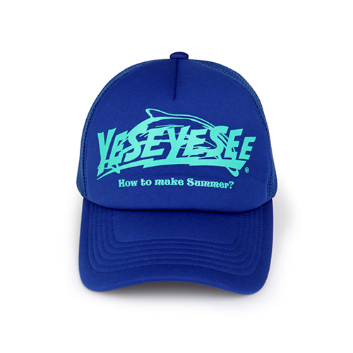 [YESEYESEE] Surfing Cap Blue