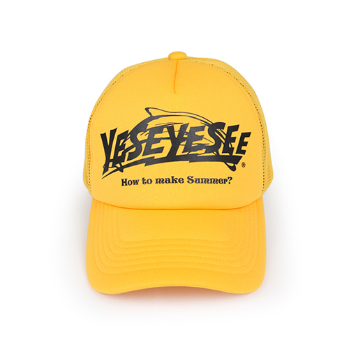 [YESEYESEE] Surfing Cap Yellow