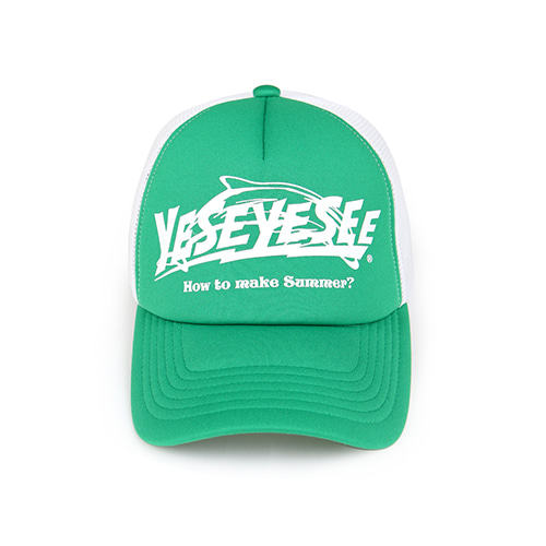[YESEYESEE] Surfing Cap Green