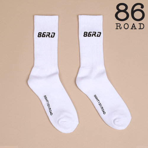 [86로드]86RD white socks