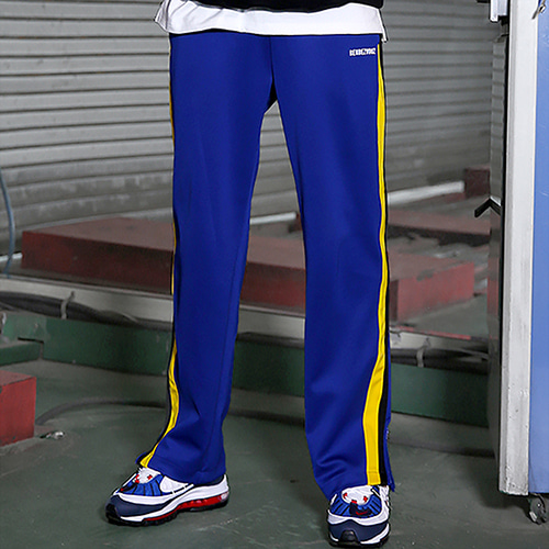 [RENDEZVOUZ] VIVID JERSEY TRACKPANTS BLUE