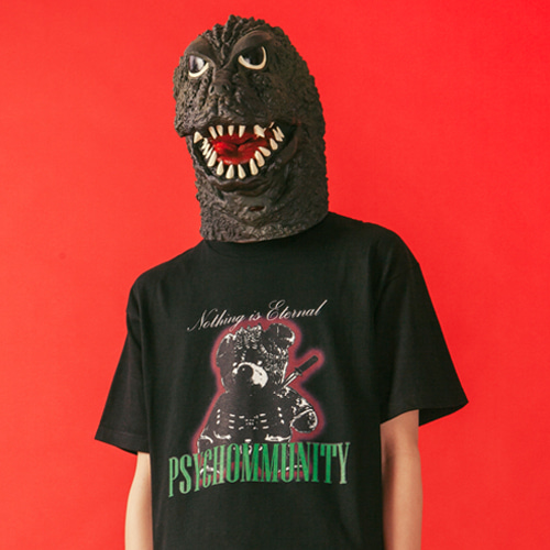 [KING] PSYCHOMMUNITY T-Shirt 001 - Black
