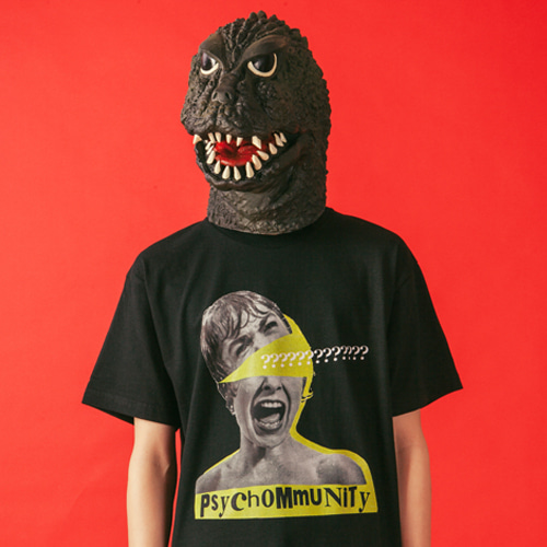 [KING] PSYCHOMMUNITY 002 T-Shirt - Black