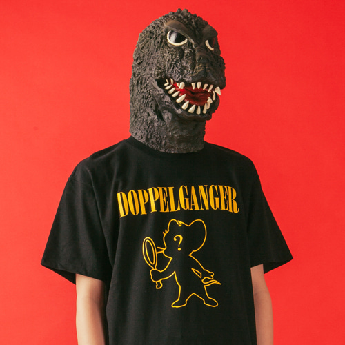 [KING] DOPPELGANGER T-Shirt - Black