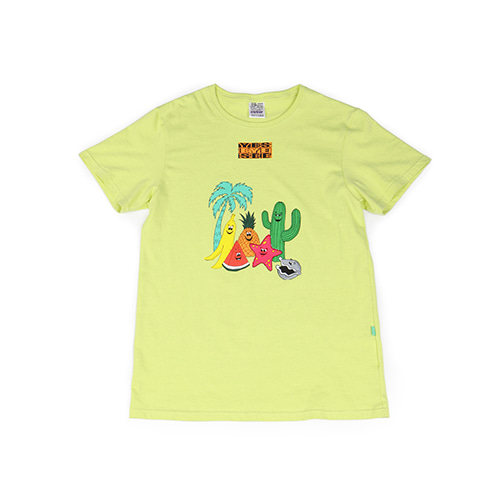 [YESEYESEE]Friends Tee LIME