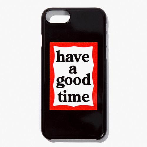 [Have a good time] FRAME iPHONE CASE for iPhone 6/7/8 (호환) - Black