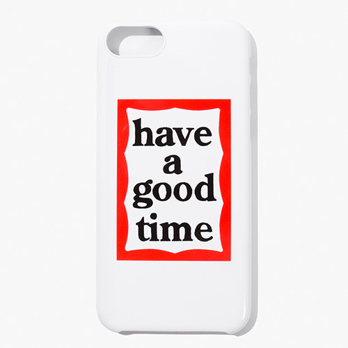[Have a good time] FRAME iPHONE CASE for iPhone 6/7/8 (호환) - White
