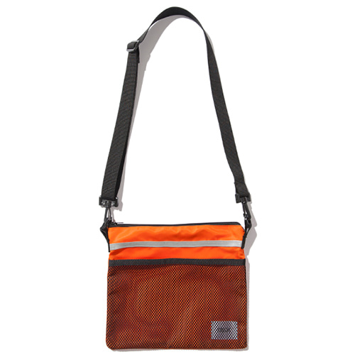 [KRUCHI] Scotch Sacoche Bag (Orange)