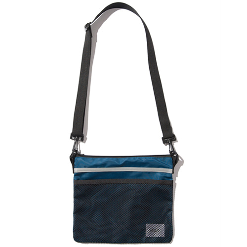 [KRUCHI] Scotch Sacoche Bag (BlueGreen)