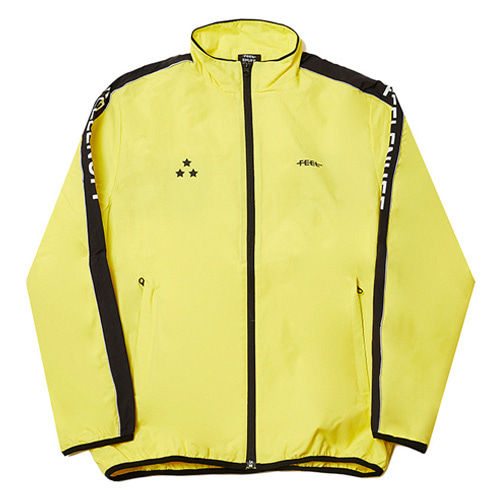 [Feel Enuff] PIPING TRACK JACKET - YELLOW