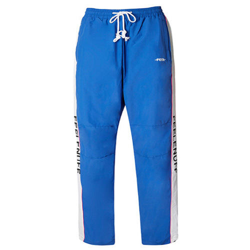 [Feel Enuff] PIPING TRACK PANTS - BLUE