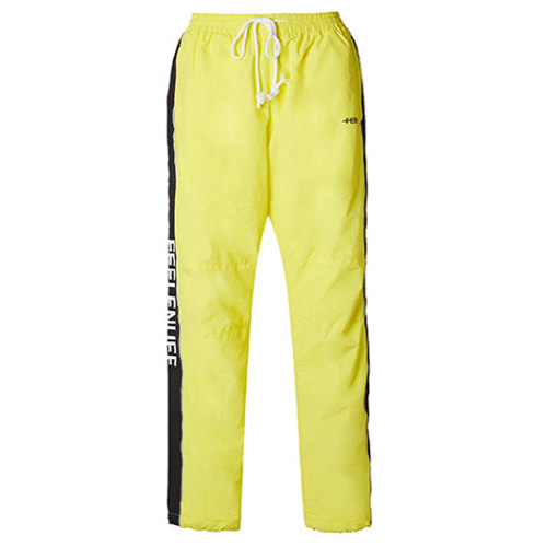[Feel Enuff] PIPING TRACK PANTS - YELLOW