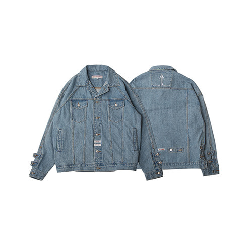 [FIFTEEN MILLION]Fifteen 02 Outer - Denim