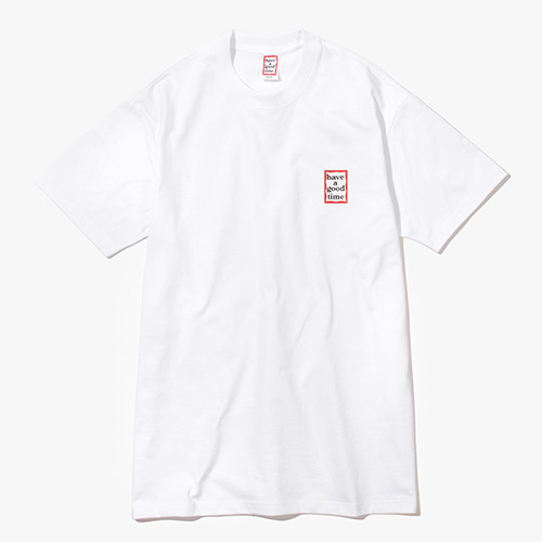 [Have a good time] Mini Frame S/S Tee - White