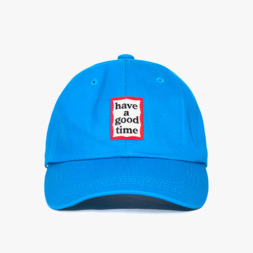 [Have a good time] Frame Ball Cap - Marine
