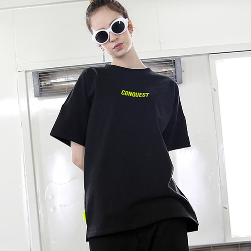 [RENDEZVOUZ] CONQUEST T-SHIRTS BLACK