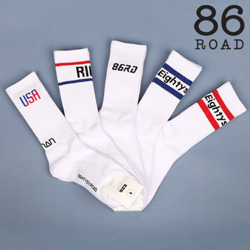 [86로드][3PACK] Socks package