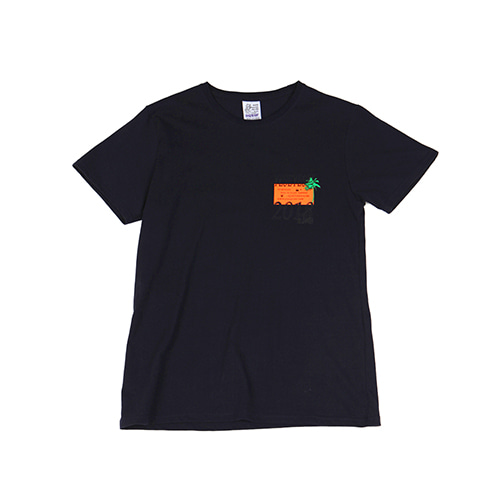 [YESEYESEE]Information Tee Navy