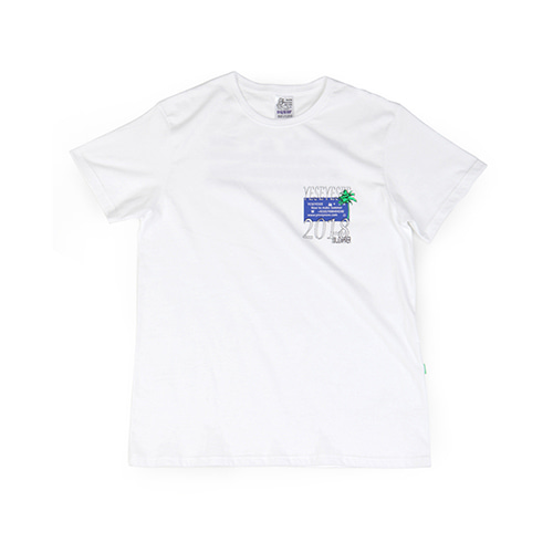 [YESEYESEE]Information Tee White