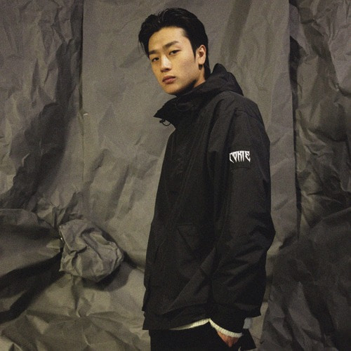 [COKIE] WINDBREAKER - BLACK