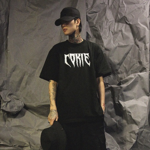 [COKIE] COKIE LOGO T - BLACK