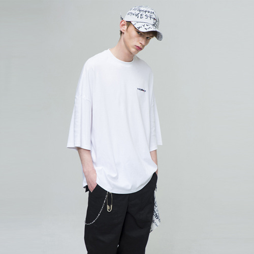 [THE GREATEST] GT18SS04 OVERSIZE T-SHIRTS WHITE