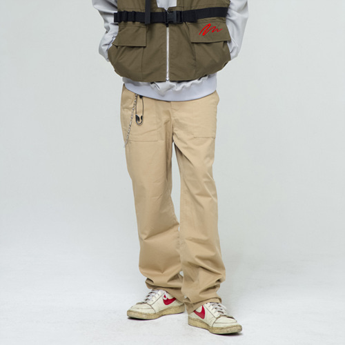 [THE GREATEST] GT18SS09 COTTON PANTS BEIGE