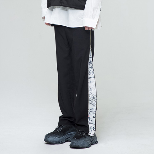 [THE GREATEST] GT18SS10 ZIP UP PANTS