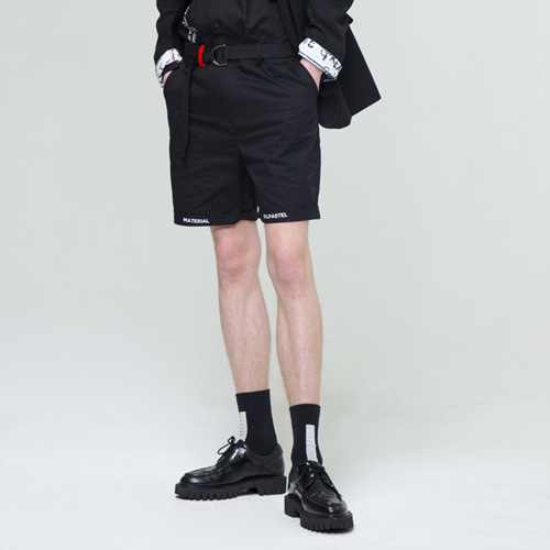 [THE GREATEST] GT18SS11 COTTON SHORTS