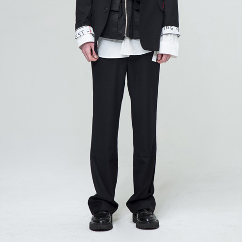 [THE GREATEST] GT18SS12 BASIC WIDE SLACKS