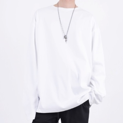 [Nar_Yoke] Super Overfit Rong Sleeve Ver.2 - White