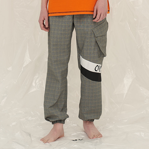 [OY] JOGER PANTS - CHECK