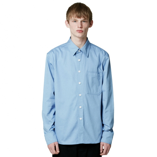 [원오브어카인드]Andrew max skyblue shirt