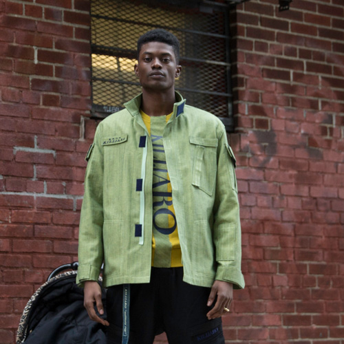 [KILIJARO]MILITARY MARCH JACKET - OLIVE
