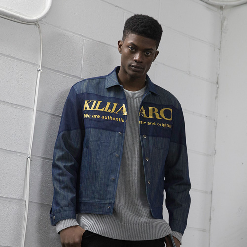 [KILIJARO]MESH LAYER DENIM JACKET
