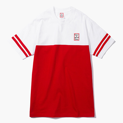 [Have a good time] Mini Frame Rugby Tee - Red