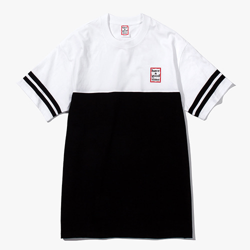 [Have a good time] Mini Frame Rugby Tee - Black