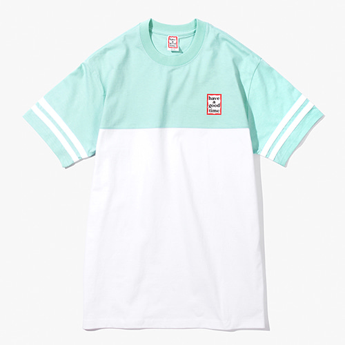 [Have a good time] Mini Frame Rugby Tee - Mint