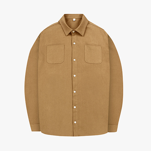 [OROR] R1-009 OUTER SHIRTS - BEIGE