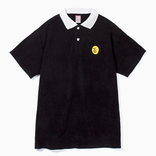 [Have a good time] Balloon Terry Shirts - Black