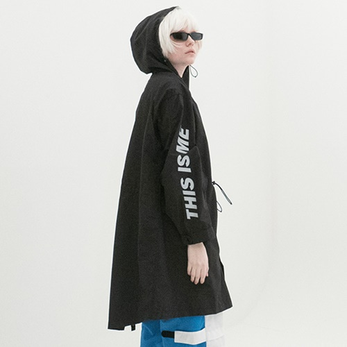 [비에이블투] Reflection Safari Rain Coat (BLACK)