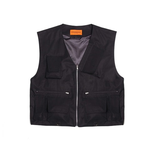 [DUCK DIVE]LEVEL 2 TECH VEST _ BLACK