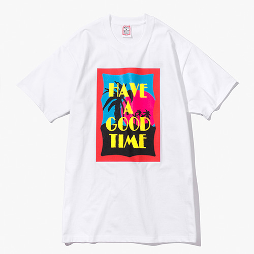 [Have a good time] Miami S/S Tee - White