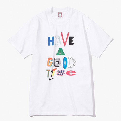 [Have a good time] Movie S/S Tee - White