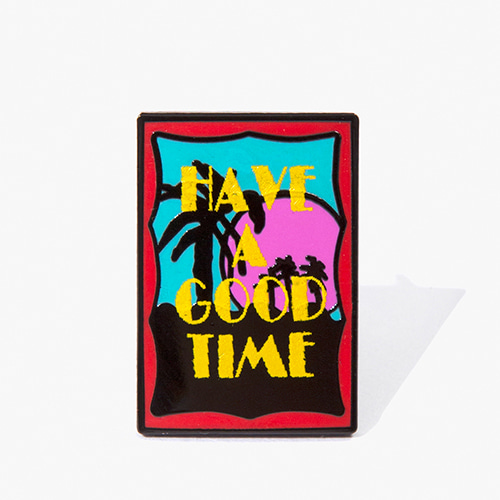[Have a good time] Miami Pin