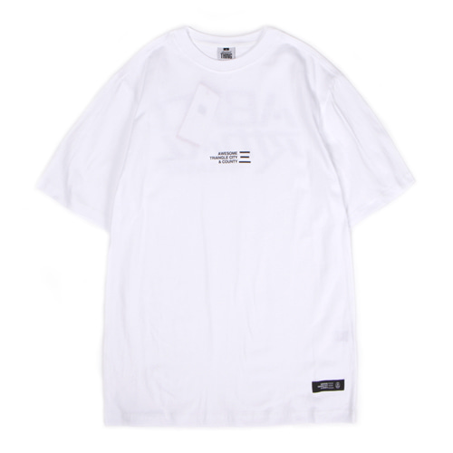 [앱놀머씽] Backlogo T-Shirt (White)